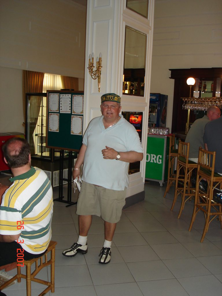 012 Golf Tyrkiet 2007